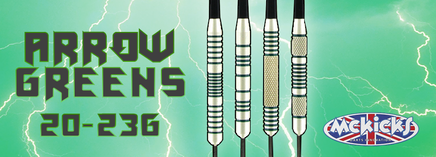 Arrow Green Darts