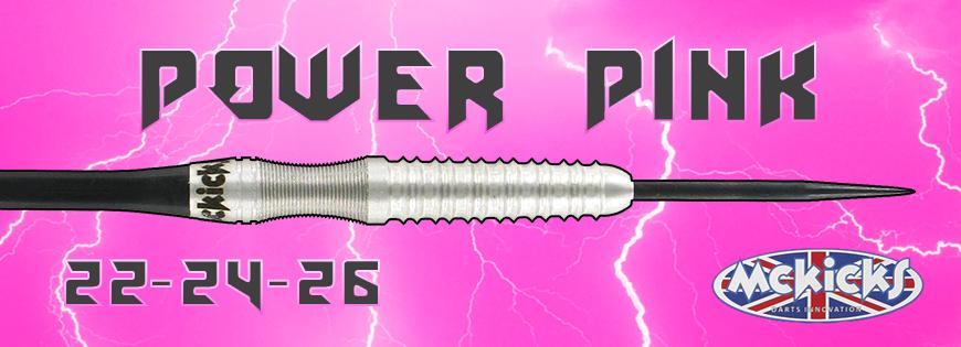 Power Pink 80% Darts