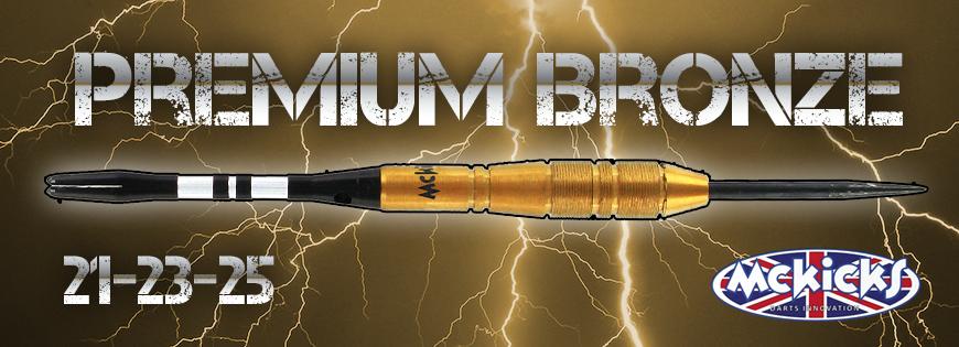 Premium Bronze 90% Darts