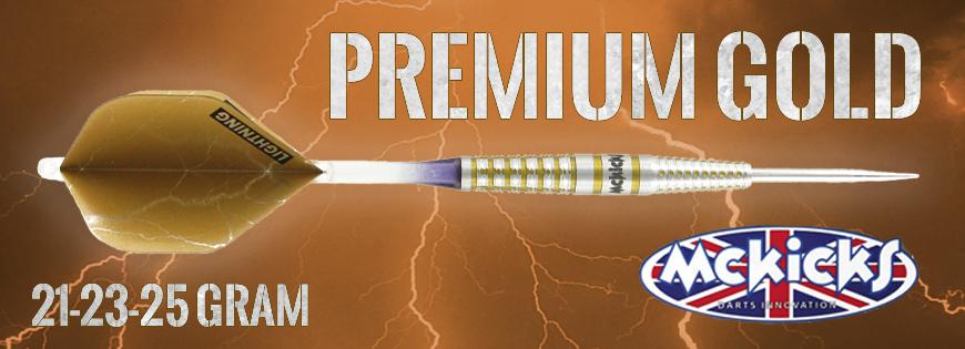 Premium Gold 95% Darts