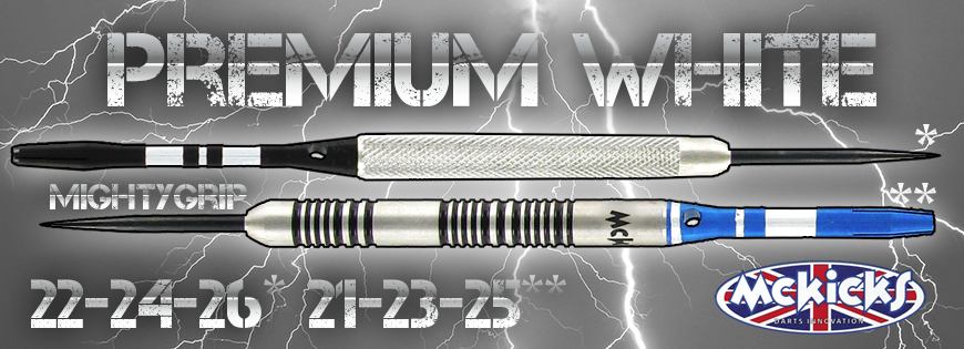 Premium Whites 90% Darts