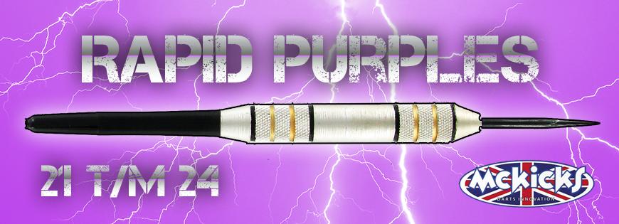 Rapid Purples Darts