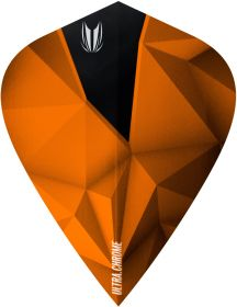 Target Vision Ultra Shard Chrome Copper Kite Flights  Darts Warehouse