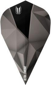 Target Vision Ultra Shard Chrome Black Vapor Flights  Darts Warehouse