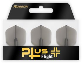 Robson Plus Flight Crystal Clear Std.6 Black