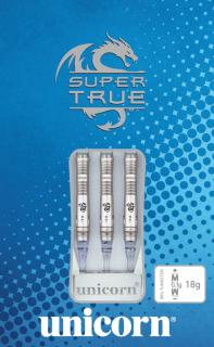Unicorn Super True 90% Blue Softtip | Darts Warehouse