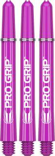 Target Pro Grip Purple Medium Shafts | Darts Warehouse