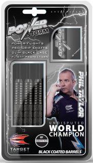 Softtip Power Storm Phil Taylor Dartpijlen   Darts Warehouse