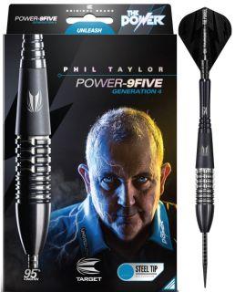 Phil Taylor Power 9FIVE Gen.4 95% | Darts Warehouse