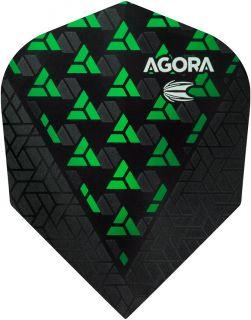 Vision Ultra Ghost Agora Green Target Dartflights   Darts Warehouse