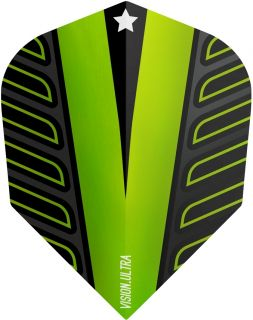 Vision Ultra Player Rob Cross Voltage Std.6 Lime Green | DartsWarehouse
