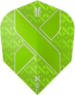 Vision Ultra Ten-X. Green Target Dartflights | Darts Warehouse