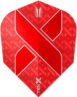 Vision Ultra Ten-X. Red Target Dartflights | Darts Warehouse