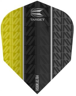 Target Vision Ultra Vapor8 Black Yellow Std.6 | Darts Warehouse