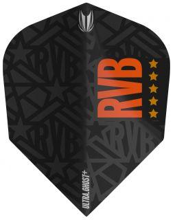 Vision Ultra Ghost+ RVB Std.6 Target Dartflight   Darts Warehouse