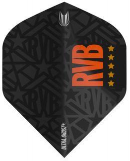 Vision Ultra Ghost+ RVB Std. Target Dartflight   Darts Warehouse