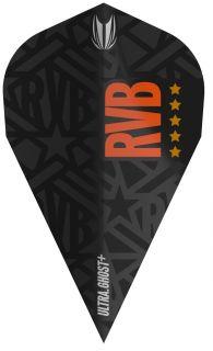 Vision Ultra Ghost+ RVB Vapor Target Dartflight   Darts Warehouse