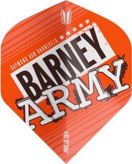 Vision Ultra Player Barney Army Orange Std. Target Flight   Darts Warehouse