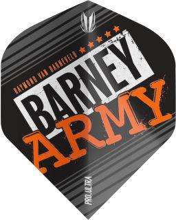 Vision Ultra Player Barney Army Black Std. Target Flight   Darts Warehouse