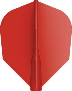 8 Flight Std.6 Red Target Dartflights   Darts Warehouse