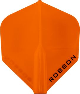 Bull's Robson Plus Flight Std. Orange   Darts Warehouse