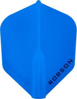 Robson Plus Flight Std.6 Blue   Darts Warehouse