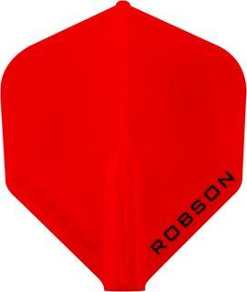 Bull's Robson Plus Flight Std. Red   Darts Warehouse