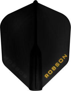 Robson Plus Flight Std.6 Black | Darts Warehouse