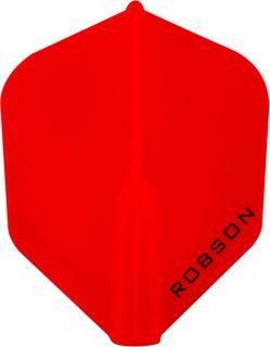 Robson Plus Flight Std.6 Red   Darts Warehouse