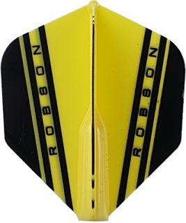 Robson Plus Flight Std. V Yellow | Darts Warehouse