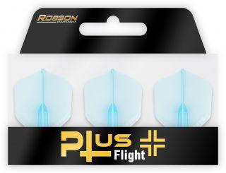 Robson Plus Flight Crystal Clear Std.6 Blue