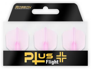 Robson Plus Flight Crystal Clear Std.6 Pink