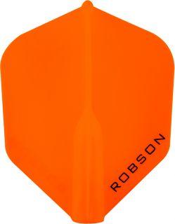 Robson Plus Flight Std.6 Orange   Darts Warehouse