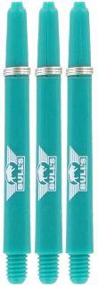Nylon + ring Medium Aqua Bull's Shafts   Darts Warehouse