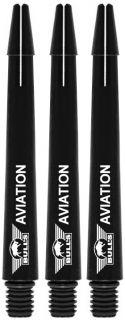 Bull's Aviation Medium Black | Strong Aluminium | Darts Warehouse