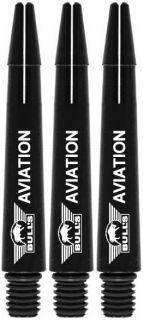 Bull's Aviation In Between Black | Strong Aluminium | Darts Warehouse