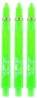 Glowlite Color Medium Green   Nylon Shafts   Dartswarehouse