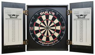 Zwart Houten Dart Kabinet van Bull's | Darts Warehouse