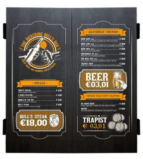 Beer Menu Deluxe Cabinet Wood Black