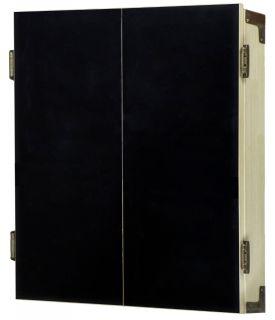 Chalk Deluxe Cabinet Wood Light Oak
