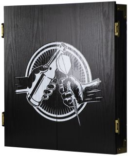 Beer and Darts Classic Cabinet Wood Black