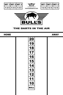 Bull's Budget Whiteboard 45x30 cm