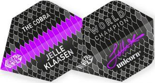 UltraFly Jelle Klaasen Std. Unicorn Flight   Darts Warehouse