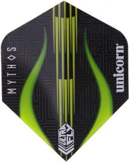 UltraFly Big Wing Mythos Minotaur Lime Unicorn Flight   Darts Warehouse