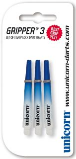 Unicorn Nylon Shaft   Unicorn Gripper 3 Two Tone Blue Medium   Online Dartwinkel Darts Warehouse