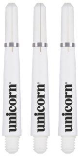 Unicorn Gripper 4 Short White Shafts   Darts Warehouse