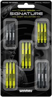 MvG Signature Michael van Gerwen 5-Pack Shafts | Darts Warehouse