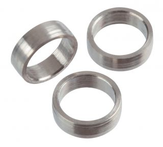Target Titanium Slot Lock Rings 2mm 3pcs | Darts Warehouse