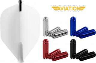 Flightprotectors Aluminium Black Bull's Accessoires | Darts Warehouse