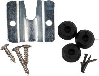 Bristle board bracket